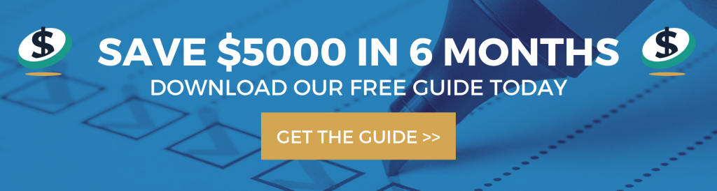 Save $5000 in 6 months