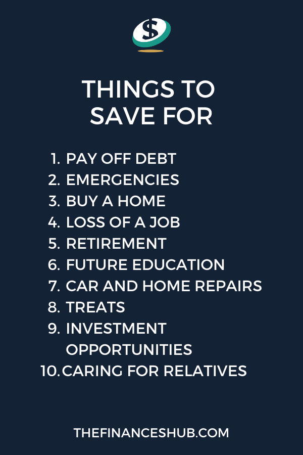 Reasons to Save Money – 10 Things to Save for Right Now