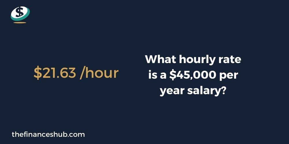 Is $45,000 a Good Salary