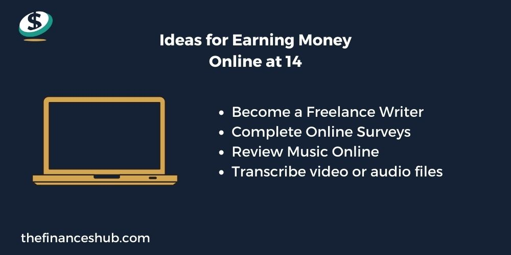 How to Make Money as a 14 Year Old Online